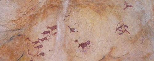 afbeelding prehistorische dieren